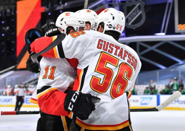 How Erik Gustafsson is helping the Calgary power play – The Win Column